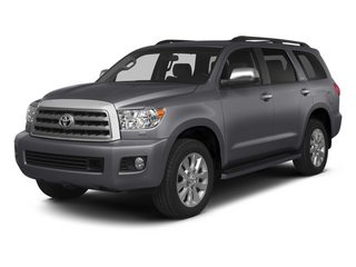 2014 Toyota Sequoia Pictures Sequoia Utility 4D Platinum 4WD V8 photos side front view