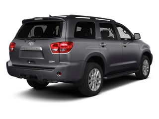 2014 Toyota Sequoia Pictures Sequoia Utility 4D Platinum 4WD V8 photos side rear view