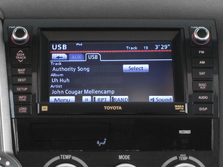 2014 Toyota Sequoia Pictures Sequoia Utility 4D Platinum 4WD V8 photos stereo system