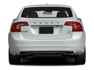 2014 Volvo S60 Pictures S60 Sedan 4D T6 AWD I6 Turbo photos rear view