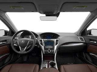 2015 Acura TLX Pictures TLX Sedan 4D Advance V6 photos full dashboard