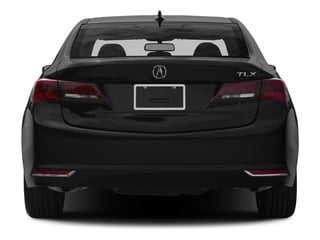 2015 Acura TLX Pictures TLX Sedan 4D V6 photos rear view