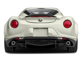 2015 Alfa Romeo 4C Pictures 4C Coupe 2D I4 Turbo photos rear view