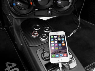 2015 Alfa Romeo 4C Pictures 4C Coupe 2D I4 Turbo photos iPhone Interface