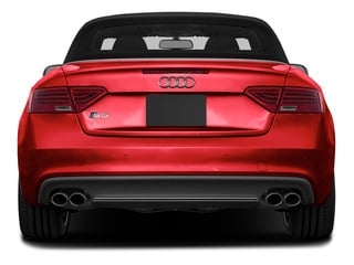 2015 Audi S5 Pictures S5 Convertible 2D S5 Prestige AWD photos rear view