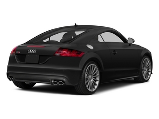 2015 Audi TTS Pictures TTS Coupe 2D AWD photos side rear view