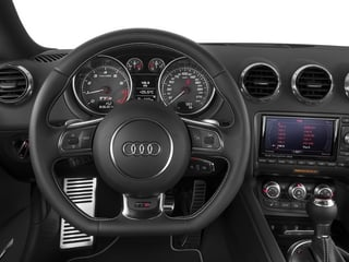2015 Audi TTS Pictures TTS Coupe 2D AWD photos driver's dashboard