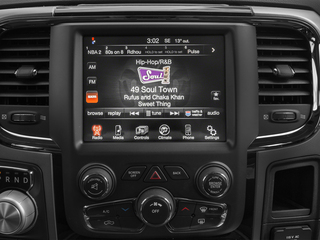 2015 Ram Truck 1500 Pictures 1500 Quad Cab Sport 2WD photos stereo system
