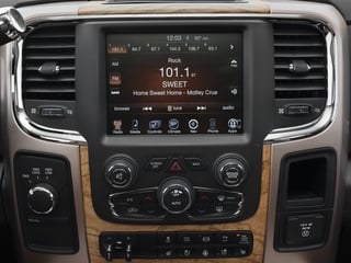 2015 Ram Truck 2500 Pictures 2500 Mega Cab Limited 2WD photos stereo system