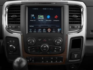 2015 Ram Truck 3500 Pictures 3500 Mega Cab Limited 2WD photos stereo system