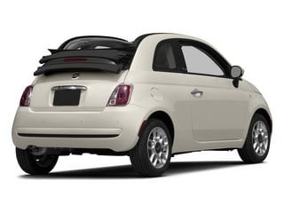 2015 FIAT 500c Pictures 500c Convertible 2D Lounge I4 photos side rear view
