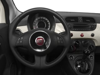 2015 FIAT 500c Pictures 500c Convertible 2D Lounge I4 photos driver's dashboard