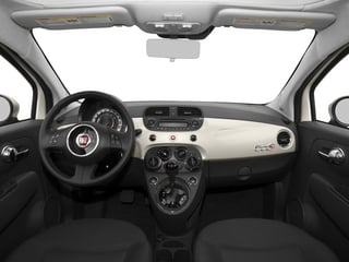2015 FIAT 500c Pictures 500c Convertible 2D Pop I4 photos full dashboard