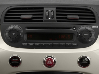 2015 FIAT 500c Pictures 500c Convertible 2D Pop I4 photos stereo system