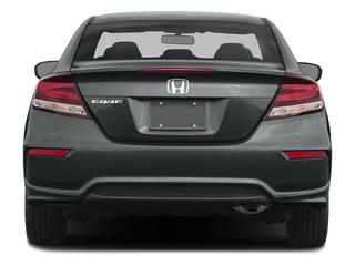 2015 Honda Civic Coupe Pictures Civic Coupe 2D EX-L I4 photos rear view