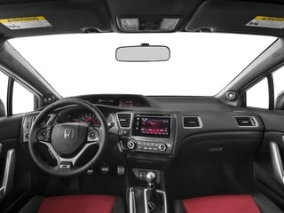 2015 Honda Civic Coupe Pictures Civic Coupe 2D Si I4 photos full dashboard