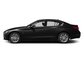 2015 INFINITI Q50 Pictures Q50 Sedan 4D Premium V6 Hybrid photos side view