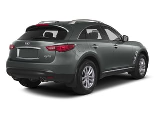 2015 INFINITI QX70 Pictures QX70 Utility 4D 2WD V6 photos side rear view