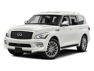 2015 INFINITI QX80 Pictures QX80 Utility 4D AWD V8 photos side front view