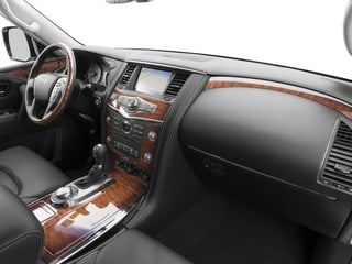2015 INFINITI QX80 Pictures QX80 Utility 4D Limited AWD V8 photos passenger's dashboard