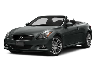 2015 INFINITI Q60 Convertible Pictures Q60 Convertible Convertible 2D V6 photos side front view