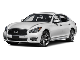 2015 INFINITI Q70L Pictures Q70L Sedan 4D LWB AWD V8 photos side front view