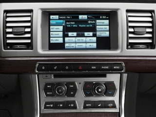 2015 Jaguar XF Pictures XF Sedan 4D V8 Supercharged photos stereo system