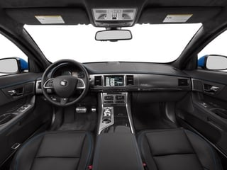2015 Jaguar XF Pictures XF Sedan 4D XFR-S V8 Supercharged photos full dashboard