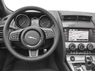 2015 Jaguar F-TYPE Pictures F-TYPE Convertible 2D V6 photos driver's dashboard