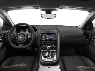2015 Jaguar F-TYPE Pictures F-TYPE Coupe 2D R V8 photos full dashboard