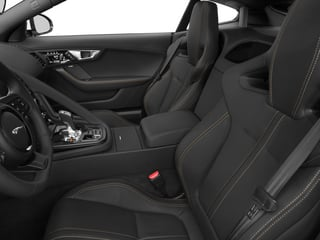 2015 Jaguar F-TYPE Pictures F-TYPE Coupe 2D S V6 photos front seat interior