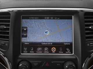 2015 Jeep Grand Cherokee Pictures Grand Cherokee Utility 4D Summit 4WD photos navigation system