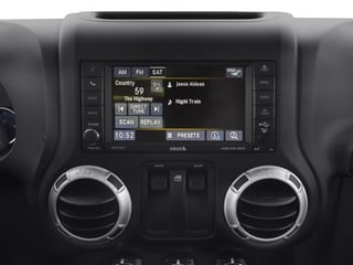 2015 Jeep Wrangler Pictures Wrangler Utility 2D Rubicon 4WD V6 photos stereo system