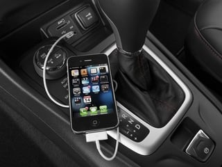2015 Jeep Cherokee Pictures Cherokee Utility 4D Trailhawk 4WD photos iPhone Interface