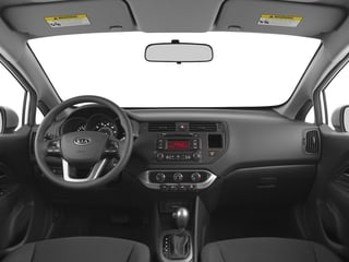 2015 Kia Rio Pictures Rio Hatchback 5D LX I4 photos full dashboard