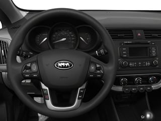 2015 Kia Rio Pictures Rio Sedan 4D EX I4 photos driver's dashboard