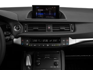 2015 Lexus CT 200h Pictures CT 200h Hatchback 5D CT200h I4 Hybrid photos stereo system