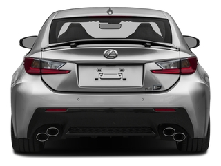 2015 Lexus RC F Pictures RC F Coupe 2D RC-F V8 photos rear view