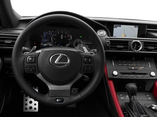 2015 Lexus RC F Pictures RC F Coupe 2D RC-F V8 photos driver's dashboard