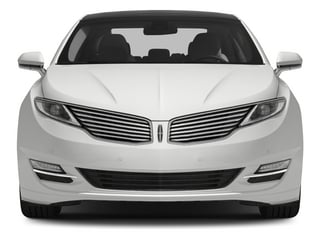 2015 Lincoln MKZ Pictures MKZ Sedan 4D Black Label AWD V6 photos front view