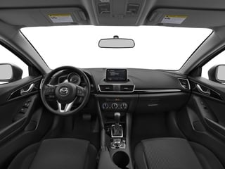 2015 Mazda Mazda3 Pictures Mazda3 Sedan 4D i SV I4 photos full dashboard