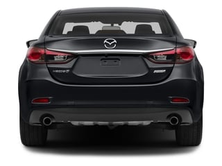 2015 Mazda Mazda6 Pictures Mazda6 Sedan 4D i Touring I4 photos rear view