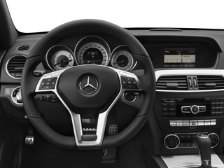 2015 Mercedes-Benz C-Class Pictures C-Class Coupe 2D C250 I4 Turbo photos driver's dashboard