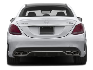 2015 Mercedes-Benz C-Class Pictures C-Class Sedan 4D C63 AMG V8 Turbo photos rear view
