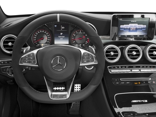 2015 Mercedes-Benz C-Class Pictures C-Class Sedan 4D C63 AMG V8 Turbo photos driver's dashboard