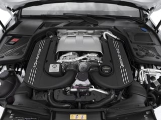 2015 Mercedes-Benz C-Class Pictures C-Class Sedan 4D C63 AMG S V8 Turbo photos engine
