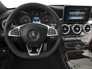 2015 Mercedes-Benz C-Class Pictures C-Class Sedan 4D C400 AWD V6 Turbo photos driver's dashboard