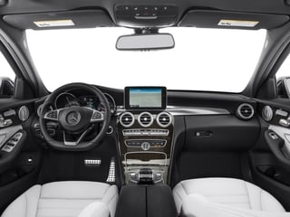 2015 Mercedes-Benz C-Class Pictures C-Class Sedan 4D C400 AWD V6 Turbo photos full dashboard