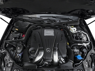2015 Mercedes-Benz CLS-Class Pictures CLS-Class Sedan 4D CLS550 V8 Turbo photos engine