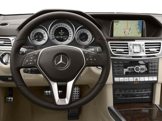 2015 Mercedes-Benz E-Class Pictures E-Class Sedan 4D E400 V6 Turbo photos driver's dashboard
